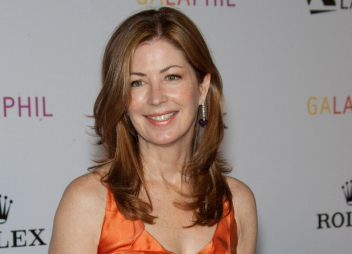Dana Delany - Long hairstyle for aging women