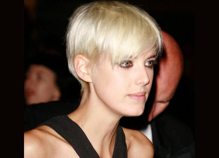 Hairstyle Finder on Agyness Deyn Hairstyle  1