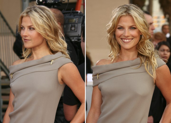 Ali Larter - Long hairstyle with layers