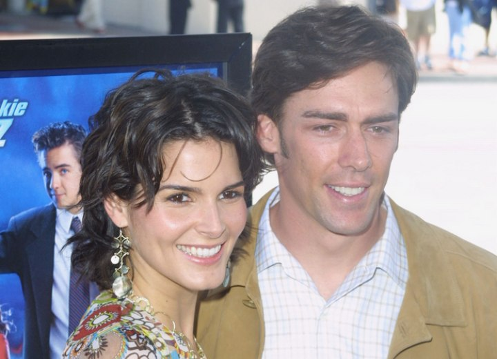 Angie Harmon and Jason Seahorn