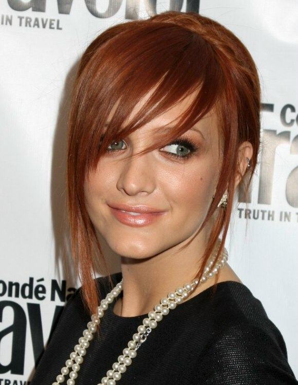 Ashlee Simpson Kim Raver Alice Band Up Style And A Hairstyle