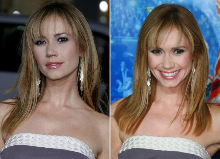 Ashley Jones - Simple and low maintenance long hairstyle