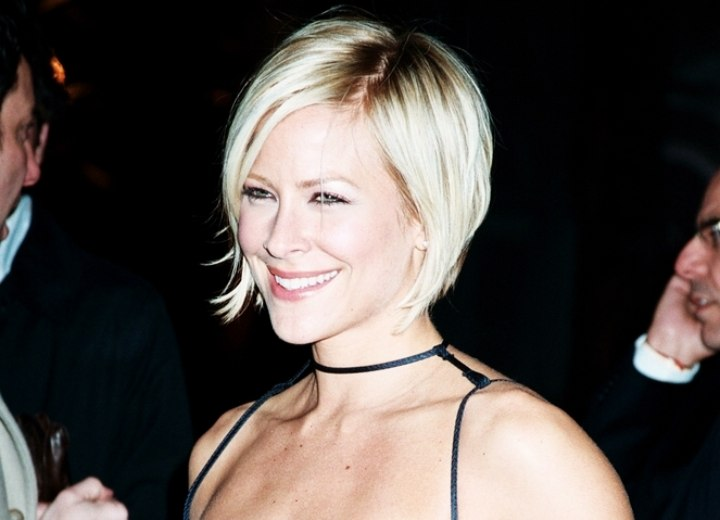 Brittany daniel - Stacked bob for short hair