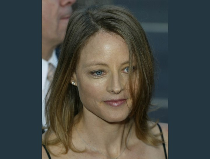 Casual hairstyles - Jodie Foster