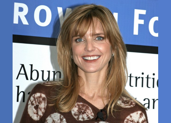 Courtney Thorne Smith Long Low Maintenance Hairstyle For