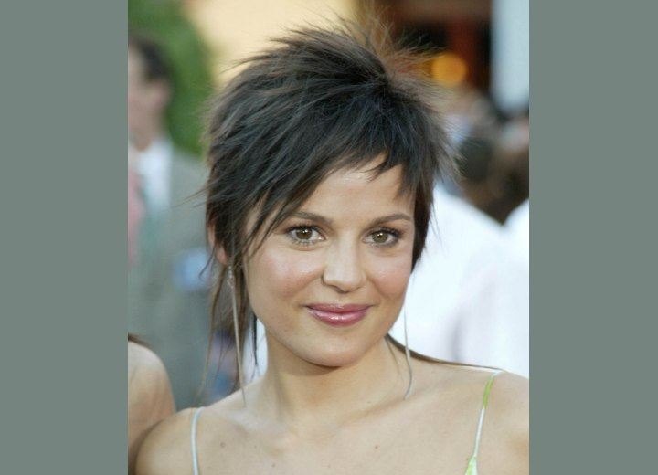 Elena Anaya - Short haircut for daring women