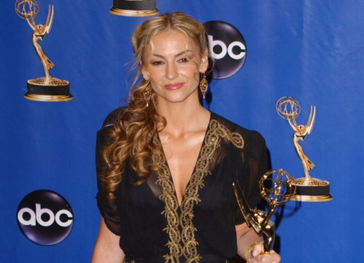 Drea DeMatteo - Long hairstyle with curls