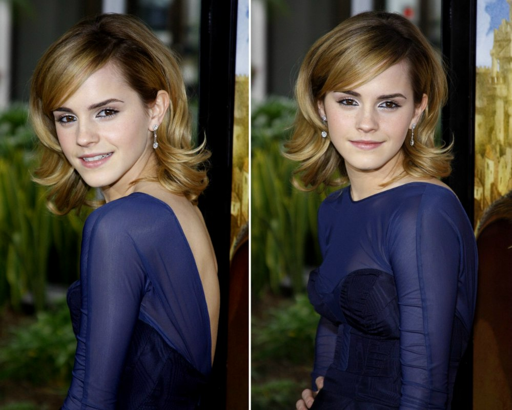Emma Watson Hair Style: Emma Watson's Hair With Layers That Can Flip Up And