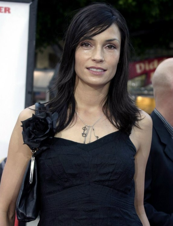 Famke Janssen Long And Versatile Hairstyle For Women