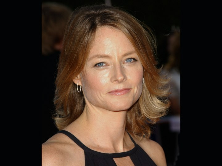 Jodie Foster hairstyle