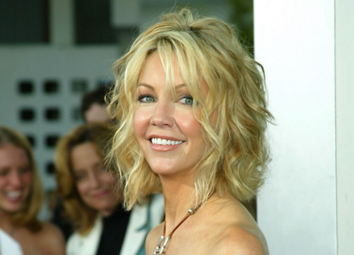 Heather Locklear with short hair