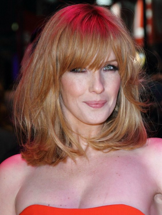 Kelly Reilly | Shoulder length hair and a hair color that ...