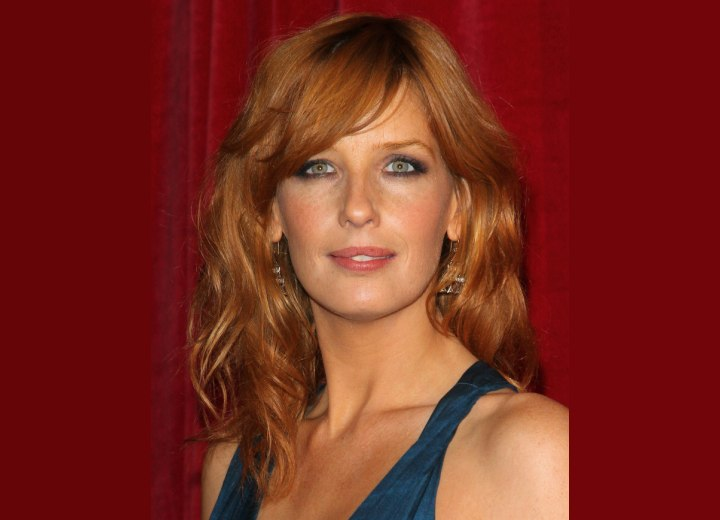 Kelly Reilly - Long layered hairstyle