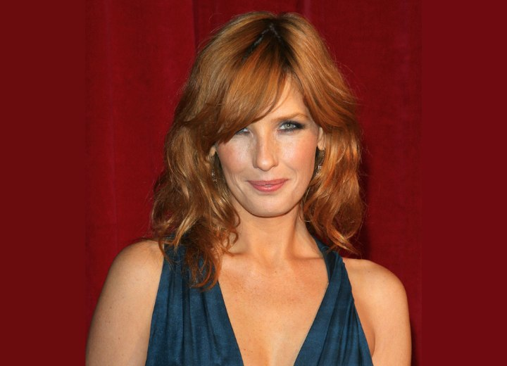 Kelly Reilly - Hairstyle that brings all focus to the eyes