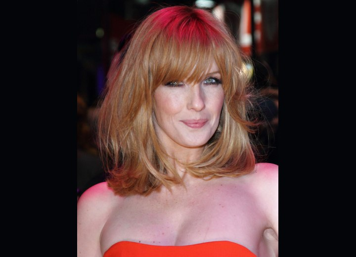 Kelly Reilly - Hair color that makes the eyes shine