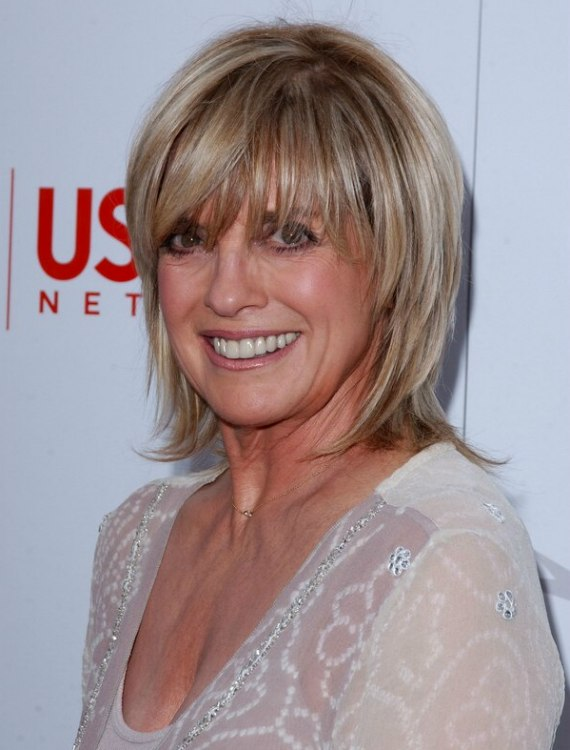 Linda Gray short hair