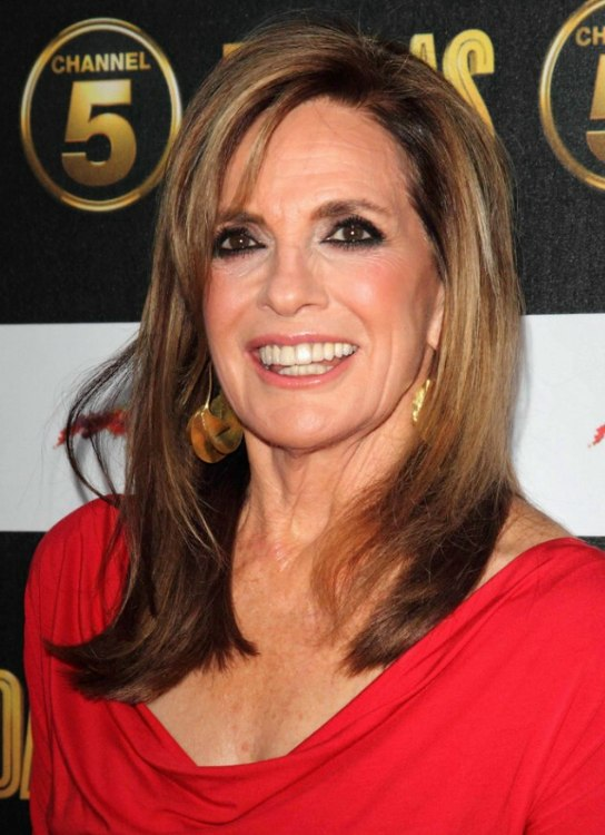 linda gray haircut gray aged 70 hairstyle for a youthful 3130 | linda gray youthful hairstyle