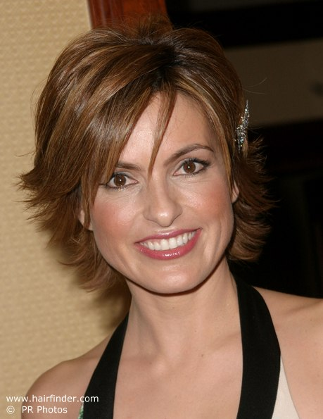 Short hair for a carefree upbeat look and facelift and long hair for a ...