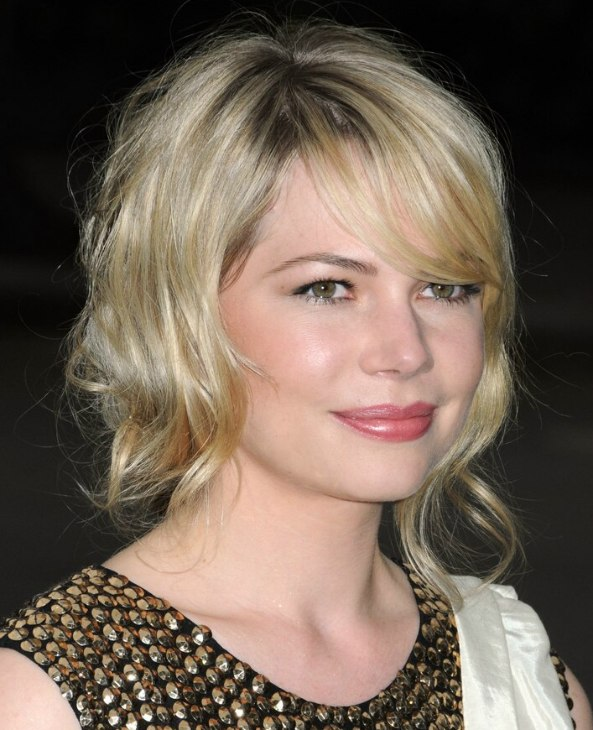 Michelle Williams | Medium long hairstyle for a tender ...