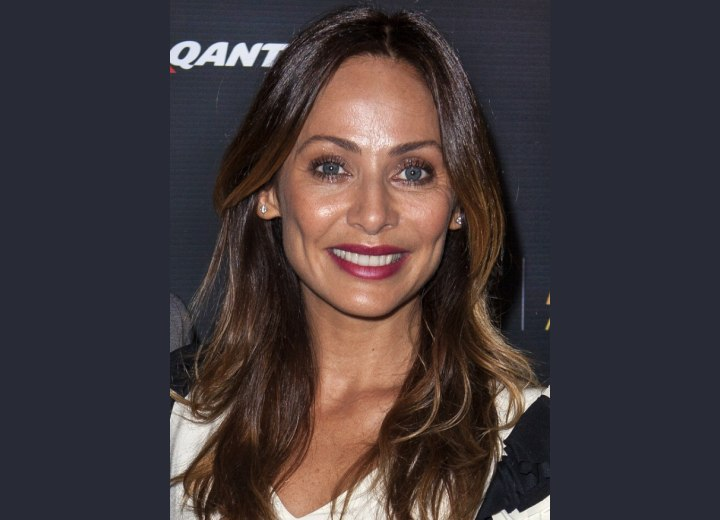 Natalie Imbruglia - Long hair with an ombre coloring