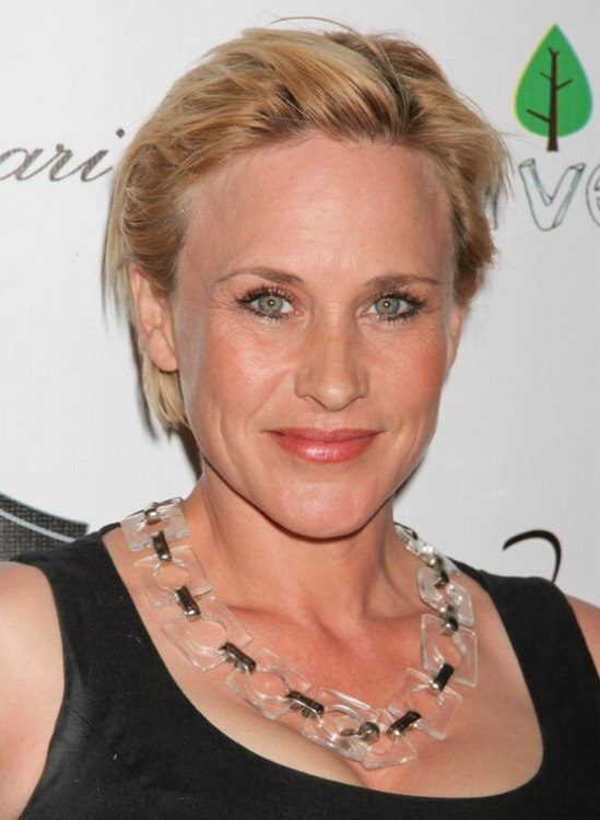 Patricia Arquette S Shorter Hairstyles Short Bob That Is