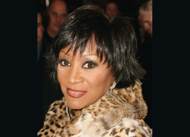 Patti Labelle with short hair
