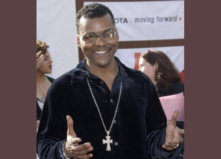 Tyler Perry. Tyler Perry with short hair at