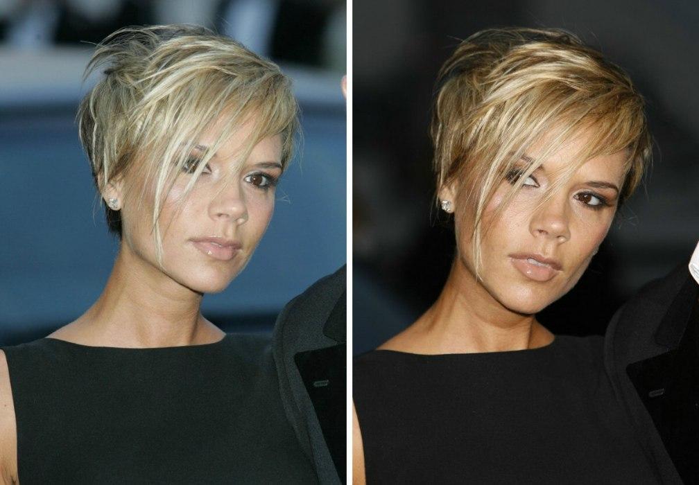 Victoria Beckhams Short Hairstyle Marion Cotillards Short Shag