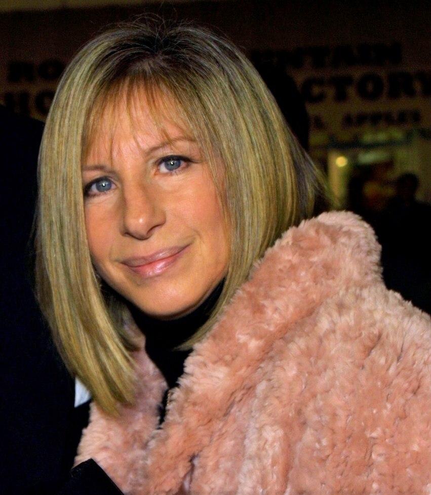 Barbara Streisand - Modern hairstyle for 60 plus women