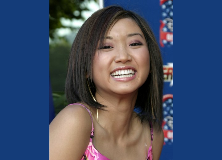 Brenda Song - Medium length Asian hairstyle