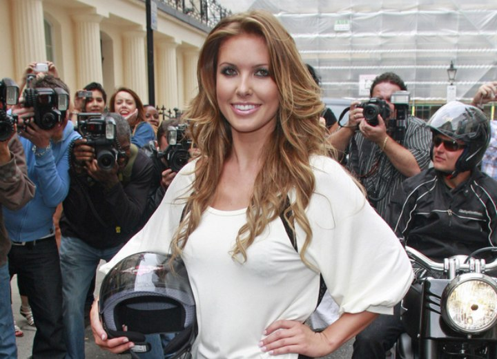 Audrina Patridge - Long below the shoulders hairstyle with curls