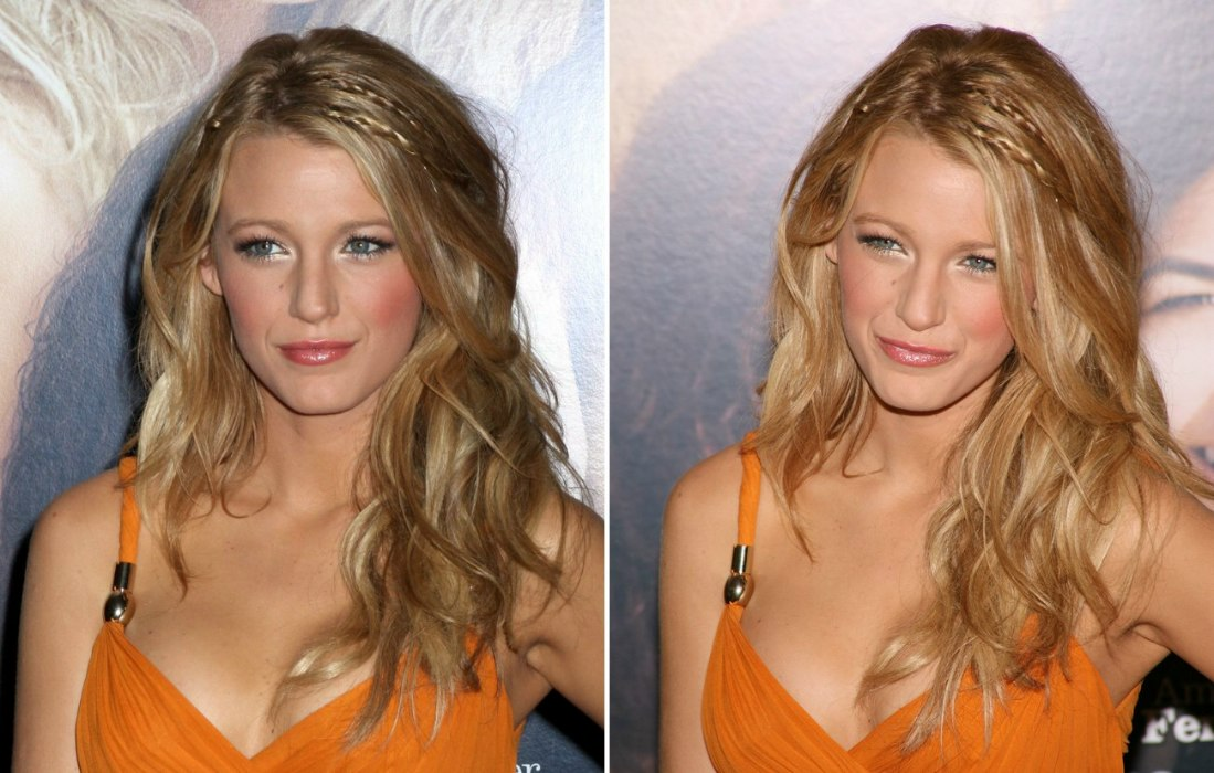 Magnificent Blake Lively Beachy Look For Long Blonde Hair With Braided Strands Largest Home Design Picture Inspirations Pitcheantrous