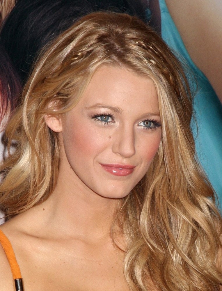Blake Lively Beachy look for long blonde hair with - Braid Hairstyles For Kids