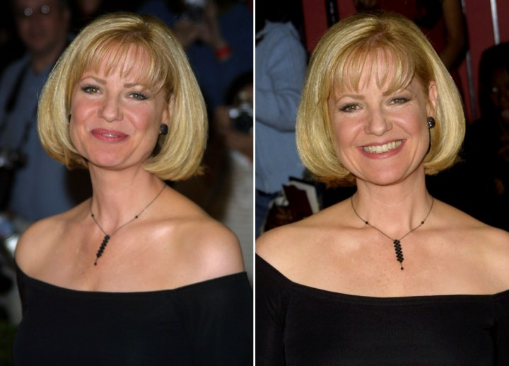 Bonnie Hunt - Timeless and easy to maintain hairstyle
