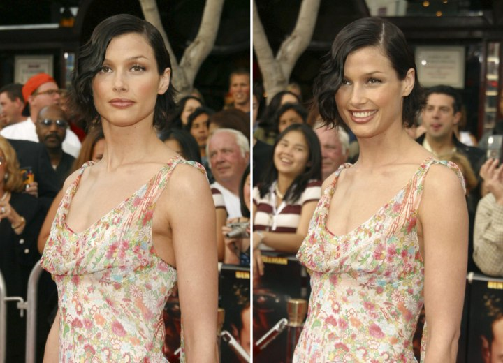 Bridget Moynahan - 1920s hairstyle with side parting