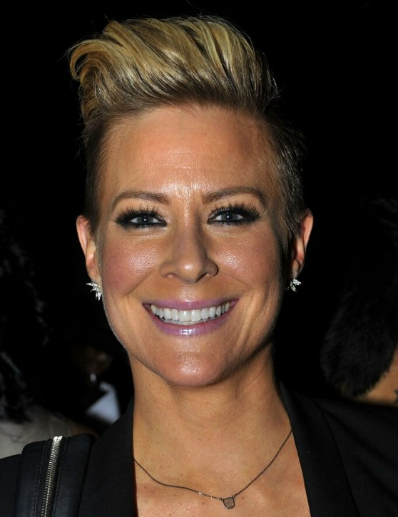 Brittany Daniel Very Short Boyish Haircut With The Sides And Back