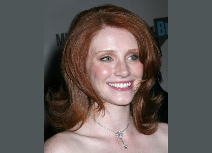 Bryce Dallas Howard - Layered hairstyle for red hair