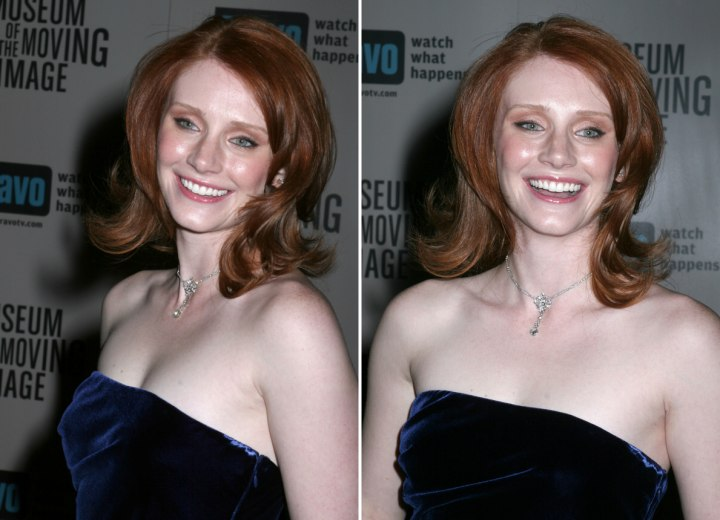 Bryce Dallas Howard - Rounded hairstyle with layers
