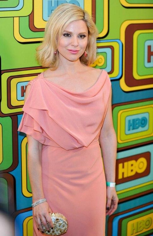 Cara Buono Medium Length Blonde Hair In A Style