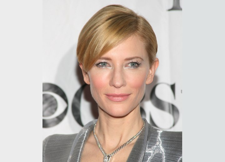 Cate Blanchett - Easy and refreshing short hairstyle