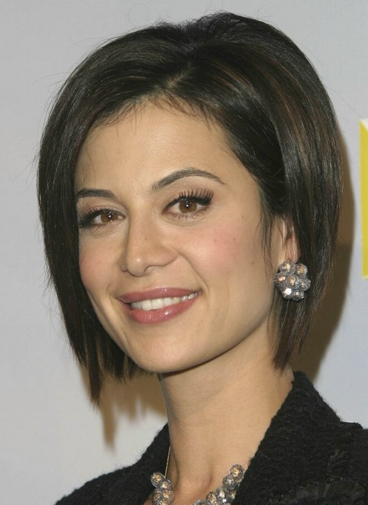 Catherine Bell Short Lifted Bob