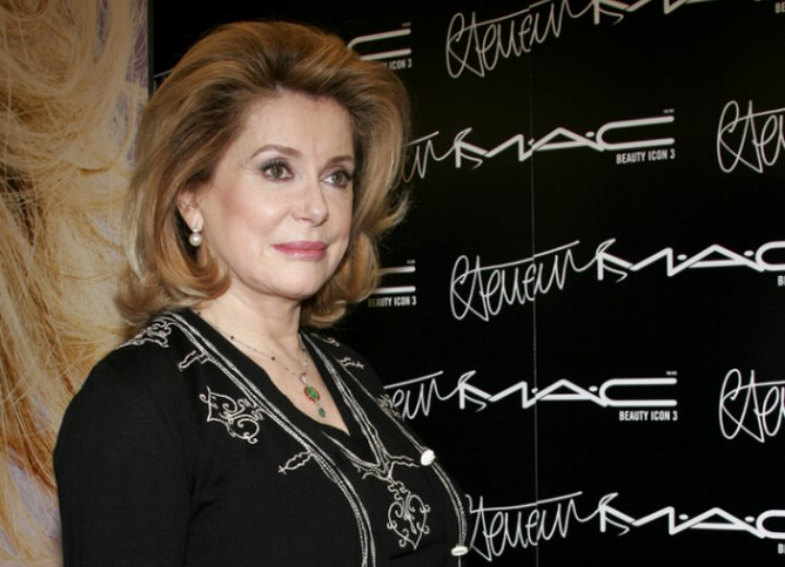 Catherine Deneuve - Stylish and sophisticated look for older women