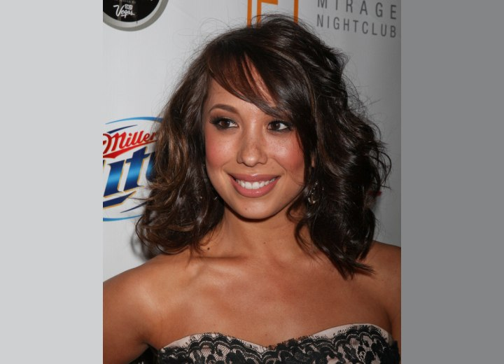 Cheryl Burke - Easy to keep long hairstyle with curls