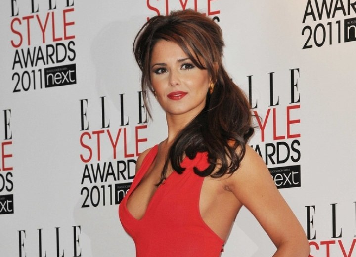 Cheryl Cole - Formal hairstyle for long hair