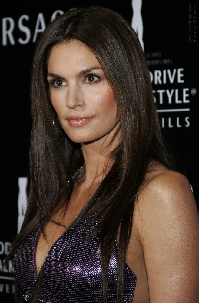 Cindy Crawford S Daughter Talks: Easy Haircut For Long Straight Hair