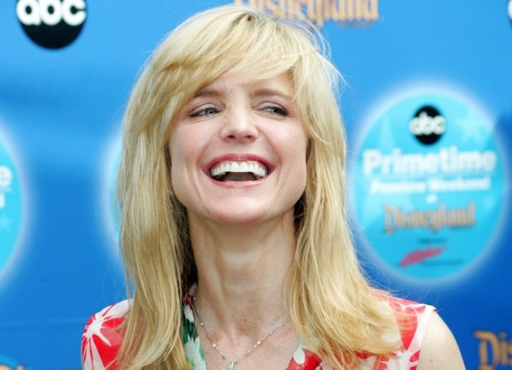 Courtney Thorne Smith Shoulder Long Hairstyle With