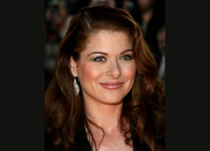 Debra Messing - Long hairstyle for red hair