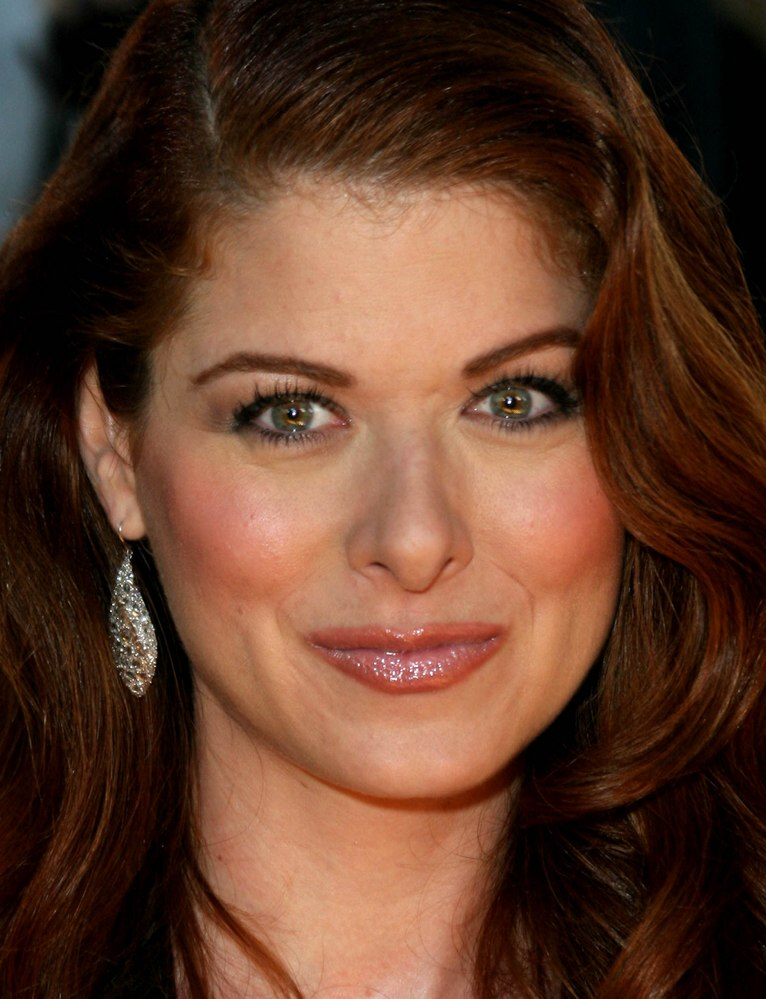 Debra Messing | Long red hair, cut with layers and worn informally ...
