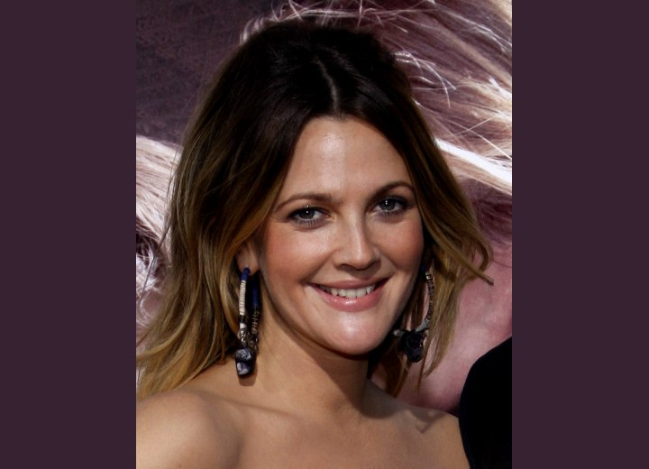 Drew Barrymore's hair color