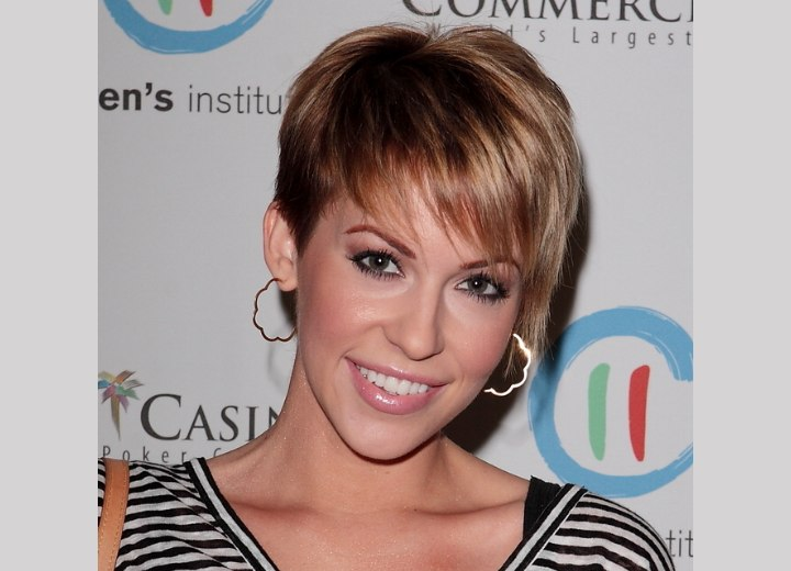 Easy to style short hairstyle - Farah Fath